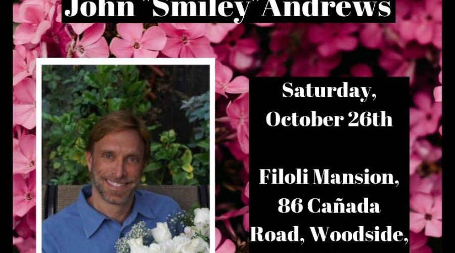 "Garden Stroll for John ""Smiley"" Andrews"
